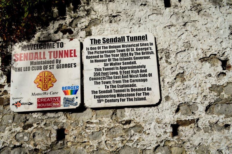 Sendall-Tunnel Grenada stockbilder