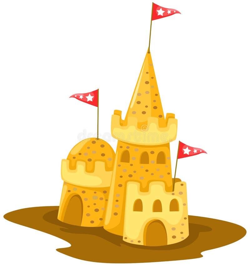 Senden Sie Schloss lizenzfreie abbildung