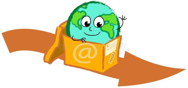 Sending the globe