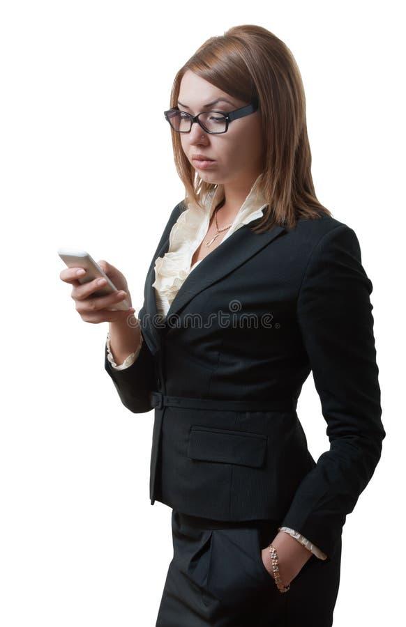 Sending a message royalty free stock photos