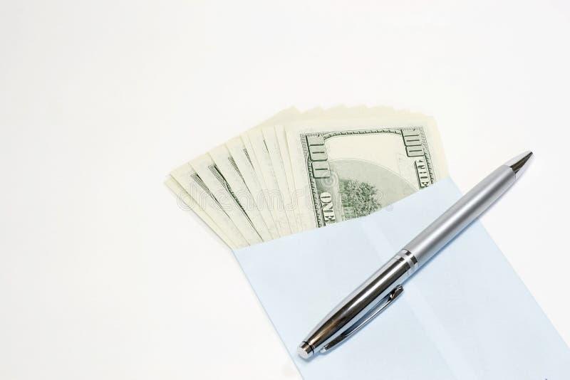 Sending Money stock image