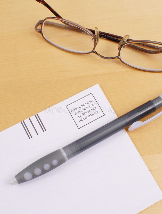 Sending Out Mail royalty free stock photography