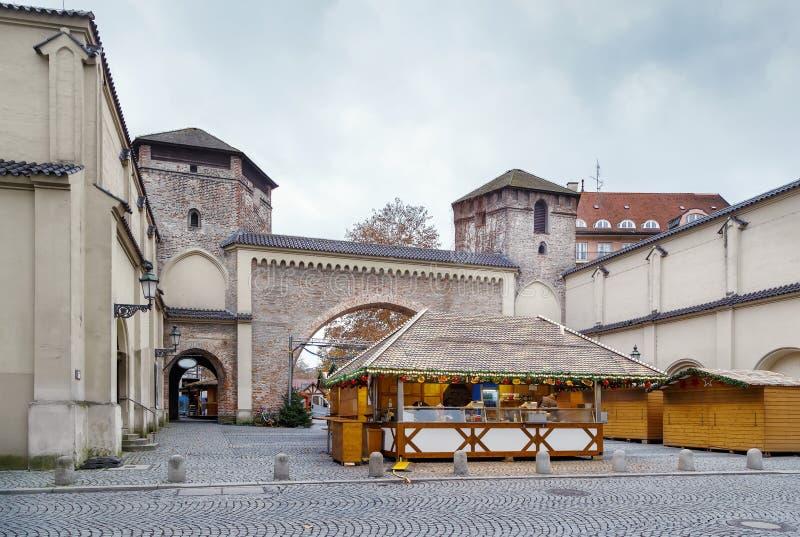 Sendlinger Tor, München, Tyskland royaltyfri bild