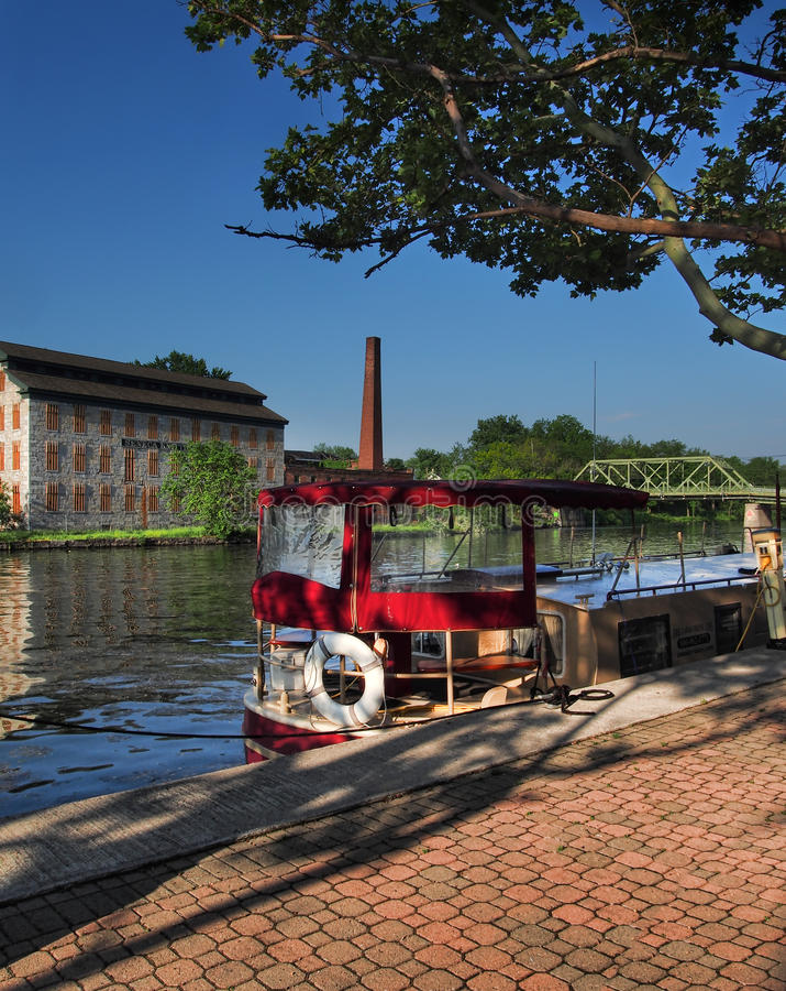 Seneca Canal royaltyfria bilder
