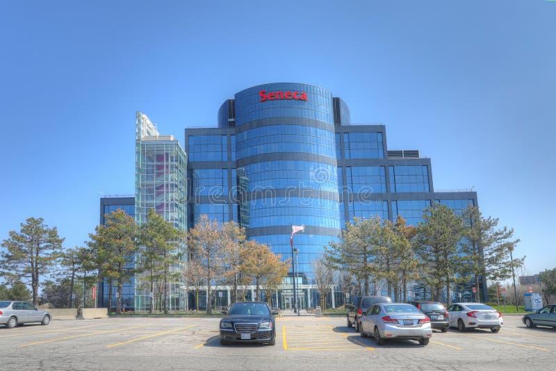 Seneca College Building in Markham, Canada fotografia stock libera da diritti
