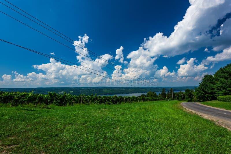 Seneca jezioro obrazy stock