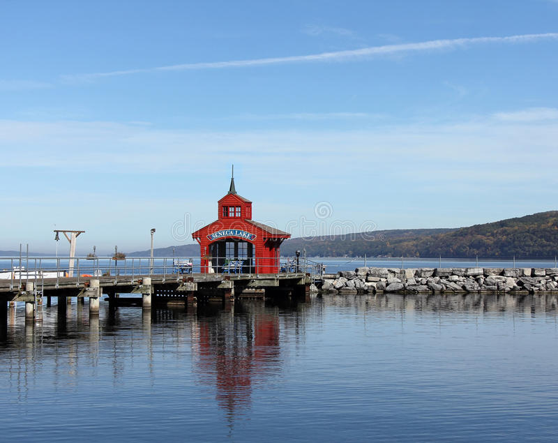 Seneca Lake royaltyfria foton