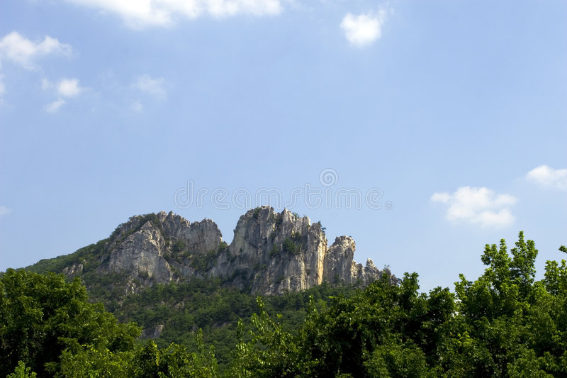 Seneca Rock stock foto