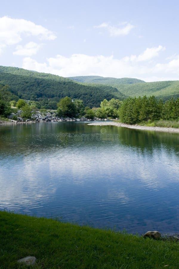 Download Seneca Rocks Mountain River Stock Image - Image: 3136185