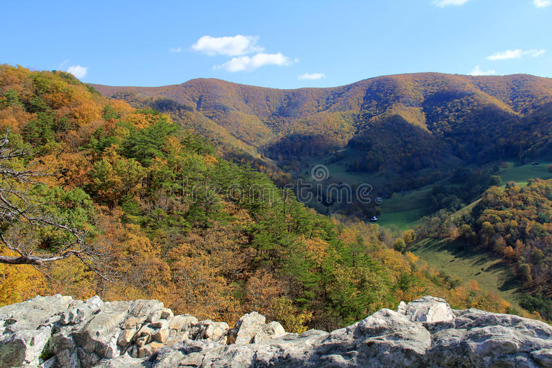 Seneca skała w spadku Zachodnia Virginia, usa - appalachian góry - zdjęcia stock
