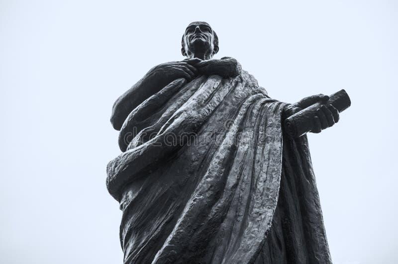 Seneca the Younger, Roman Stoic philosopher stock image