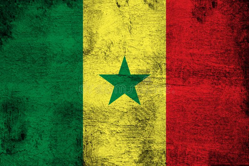 senegal illustration stock