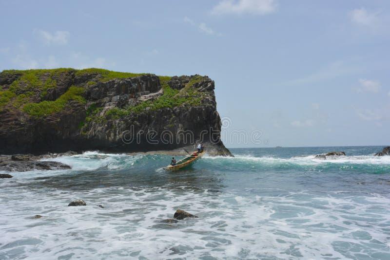 Senegal, Insel de la Madeleine stockfotos