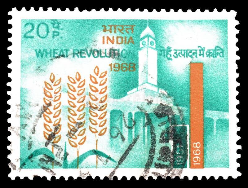 Senegal op postzegels stock afbeelding