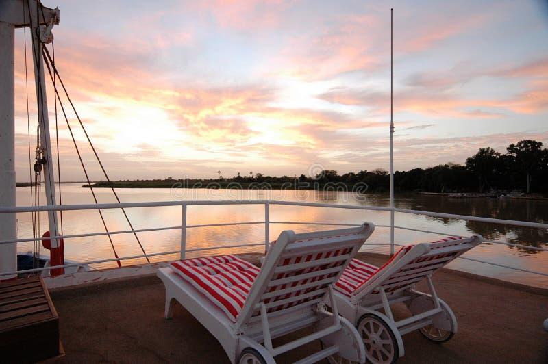 Senegal River_Senegal_West Afrika lizenzfreie stockfotos