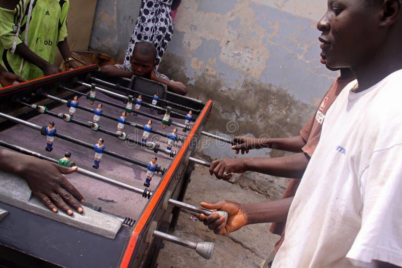 Download Senegalese Boys Play Foosball Editorial Photo - Image: 17323136
