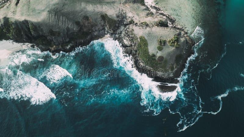 Senggigi海岛,龙目岛,印度尼西亚 免版税库存照片