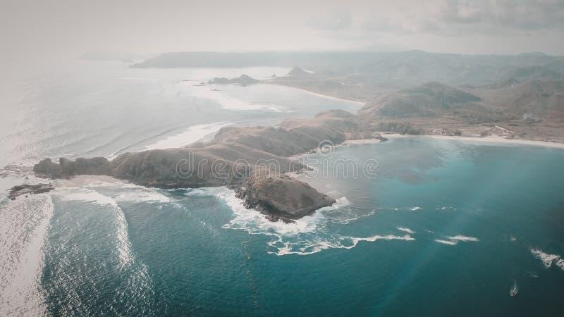 Senggigi ö, Lombok, Indonesien arkivbild
