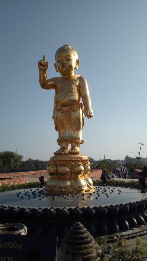 Senhor da Buda do bebê da prosperidade fotos de stock royalty free