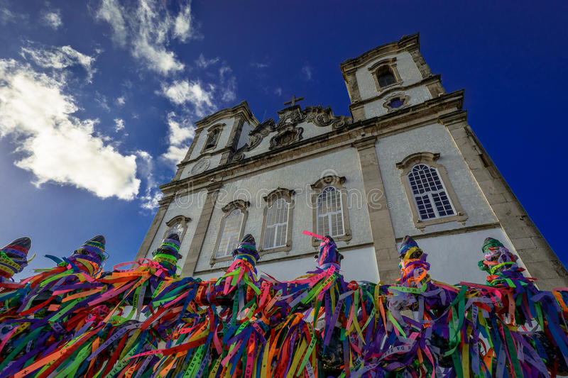 Senhor do Bonfim Church royalty free stock photo