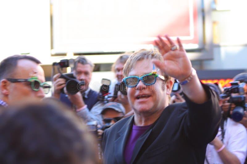 Senhor Elton John imagem de stock royalty free