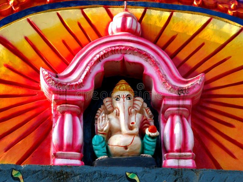 Senhor Ganesha Ídolo foto de stock