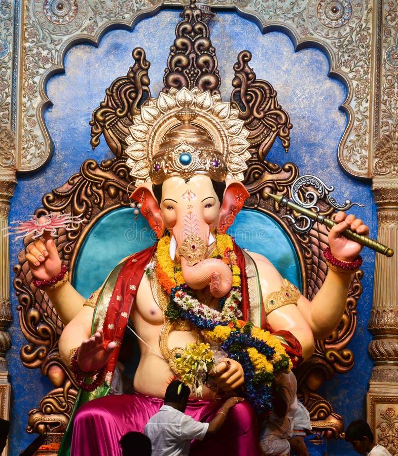 Senhor Ganesha em Lalbaug fotos de stock