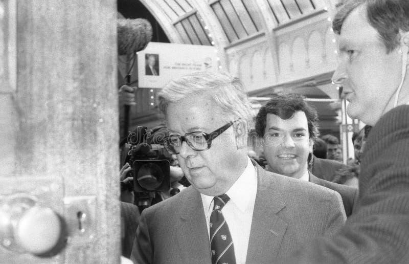 Senhor Geoffrey Howe fotos de stock royalty free