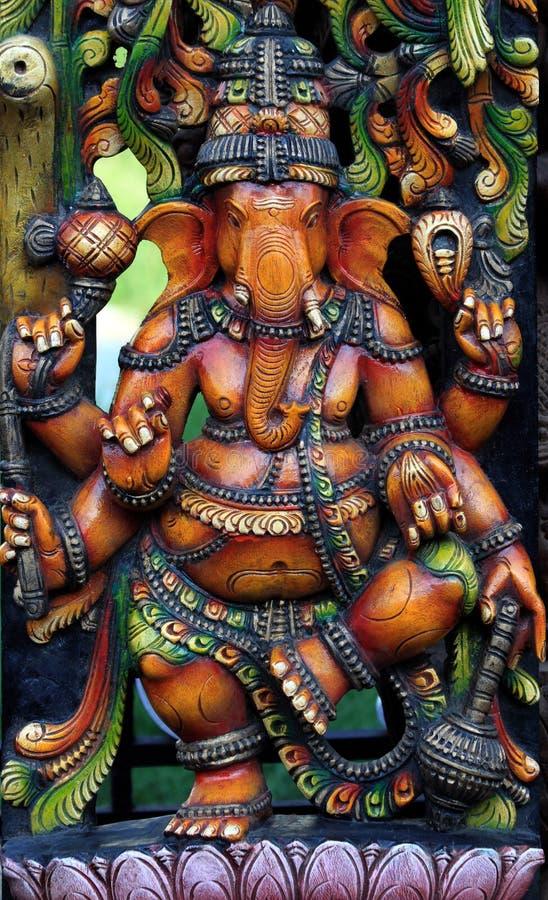 Senhor Hindu Gannesa do deus fotos de stock royalty free