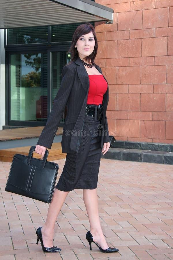 Senhora à moda Executivo fotografia de stock royalty free