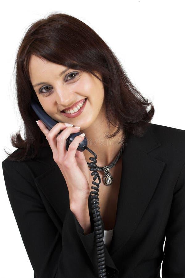 Senhora #64 do negócio imagens de stock