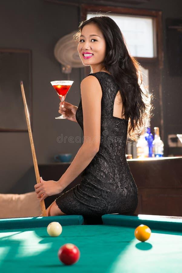 Senhora asiática nova imagem de stock