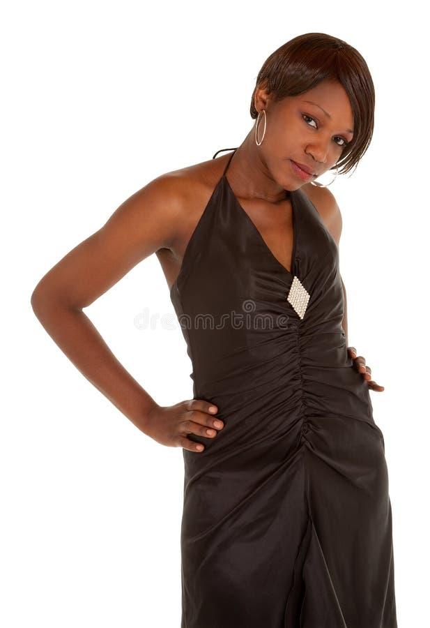 Senhora bonita do americano africano fotos de stock royalty free