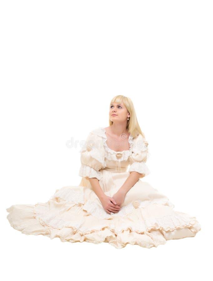 Mulher bonita do Victorian foto de stock royalty free