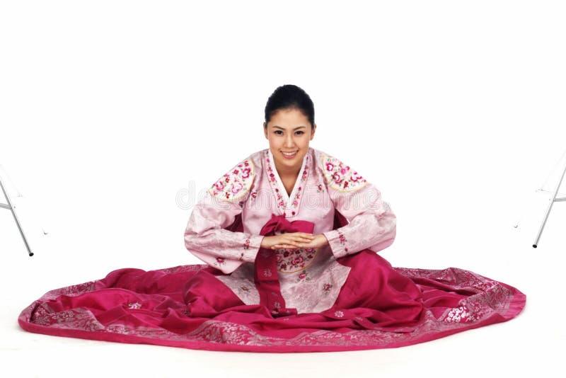 Senhora coreana imagens de stock royalty free
