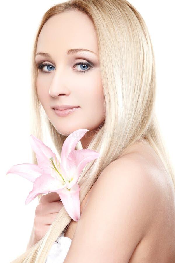 Senhora da orquídea fotos de stock royalty free