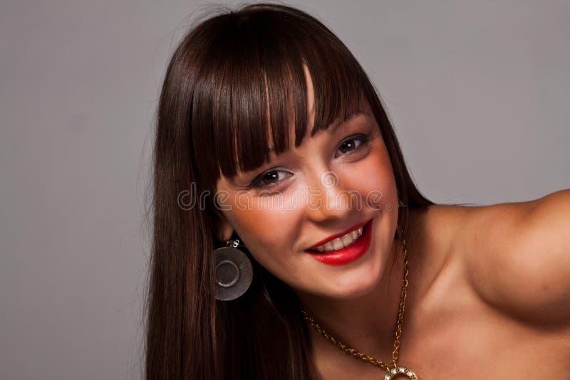 Senhora de Beautifful fotos de stock royalty free