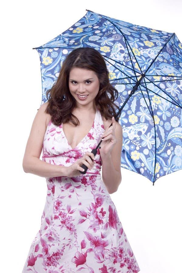 Download Senhora do guarda-chuva imagem de stock. Imagem de menina - 544273