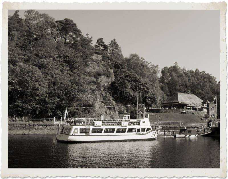 Senhora do navio do lago imagem de stock royalty free