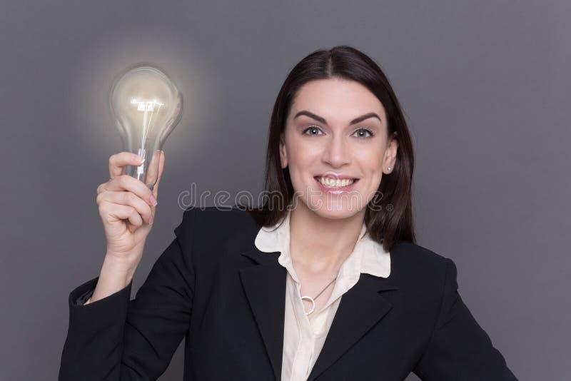 Senhora #37 do negócio foto de stock