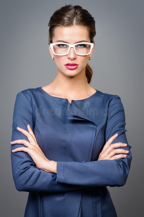 Senhora #37 do negócio imagens de stock royalty free