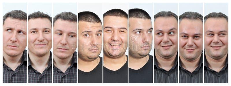 Senhora facial de Expressions fotos de stock royalty free