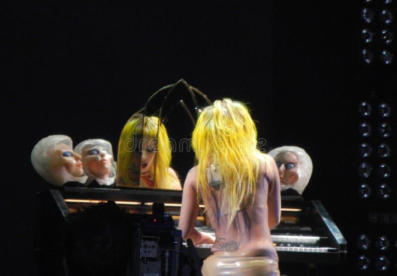Senhora Gaga fotografia de stock