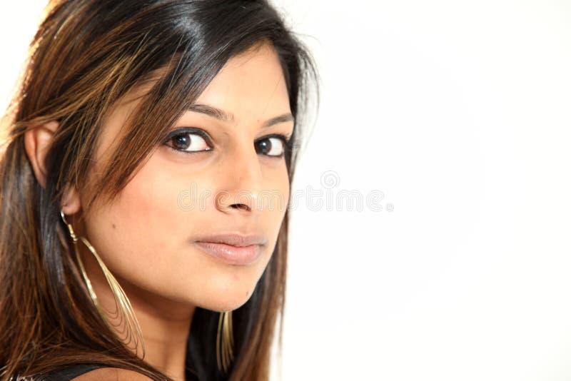 Senhora indiana nova bonita fotografia de stock royalty free