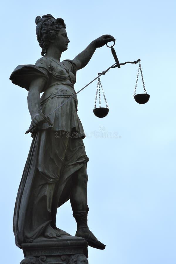 Senhora Justice imagem de stock