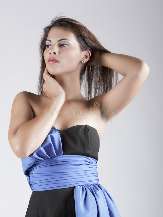 Senhora latino-americano atrativa foto de stock royalty free