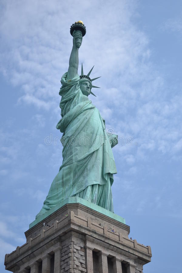 Senhora Liberty imagens de stock royalty free