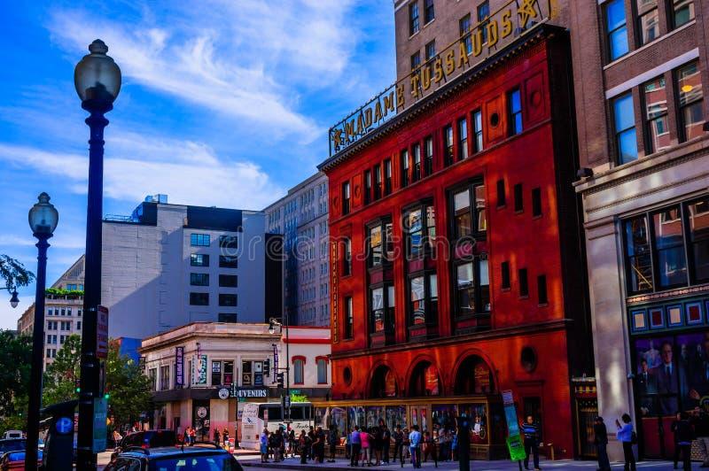 Senhora Tussauds Washingtong C.C. fotos de stock
