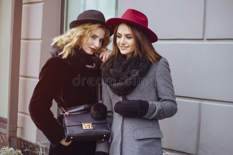 Senhoras elegantes fotografia de stock royalty free