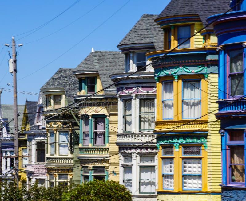 Senhoras pintadas em San Francisco foto de stock royalty free